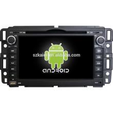 Android 4.4 Espelho-link Glonass / GPS 1080 P dual core media player para GMC Yukon / Acadia / Serra com GPS / Bluetooth / TV / 3G
