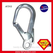 A7312 CE EN362 Crochet de barre de sécurité à double action