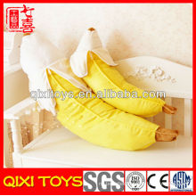 Soft cute banana toy stuffed plush fruit toy
