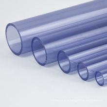 Пустой черный круговой Жесткий пластик ПВХ Труба 10мм