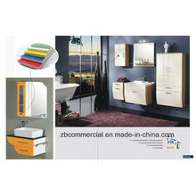 Hoja de espuma de PVC utilizada para modelos / particiones / revestimiento de pared / decoración interior o exterior