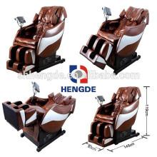 Ángulo de reclinación máximo 210 grados silla de masaje de salud de belleza