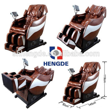 Maximum recline angle 210 degree beauty health massage chair