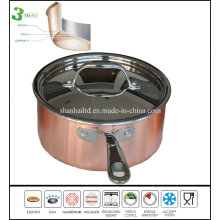 3 Ply Composite Material Copper Saucepan