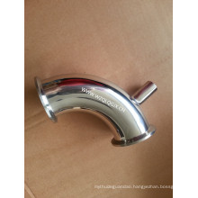 Sanitary Stainless Steel Welded Tube Clamped Elbow