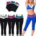 Usage fait sur commande de yoga de séance d'entraînement de femmes de sublimation de mode pour des sports