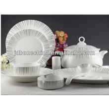 Pote de la cerámica de la porcelana de oro de la venta caliente real en relieve