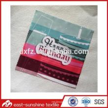 Изготовленная на заказ ткань телефона для чистки с логосом, изготовленная на заказ красивейшая ткань microfiber с различным логосом