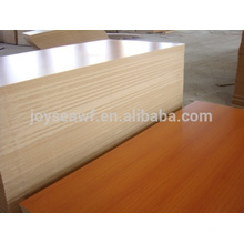 Madera de melamina de alta calidad / melamina mdf / melamina blockboard con precio barato