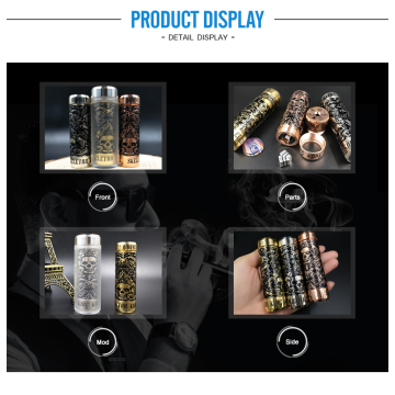 Hot sale copper vape mechanical mods electronic cigarette