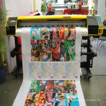 60 cabeça de impressão DX5 inkjet grande formato eco flex solvente banner plotter sublimação plotter impressora (1.2 m) ZXK-1600