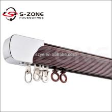 GD49 ducha de aluminio doblando el carril de la cortina de la alta calidad