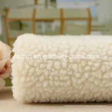 100% polyester velours en cachemire chaud pour textile domestique