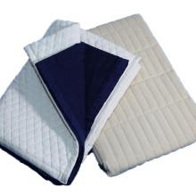 Cobertor elétrico de poliéster acrílico de viagem patchwork portátil