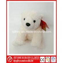 Proveedor de China para el oso de peluche de hielo para regalo navideño