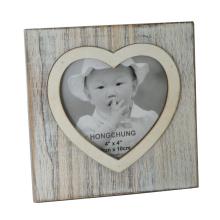 Quadro de foto do coração para decoração de casa