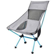 Silla de campamento portátil con mochila para exteriores con reposacabezas