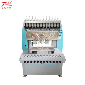 High speed pvc sport shoes logo dripping machine