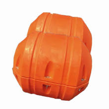 Hot sale polyurethane orange steel pipe floater