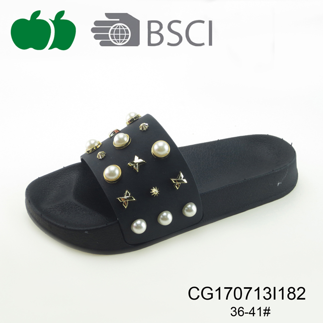 2017 New Design Fashion Female Slippers