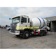 6x4 12000L JAC Concrete Mixer Trucks