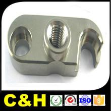 CNC moagem de aço parte de metal do material C45 / Q235 / Q345 parte de aço