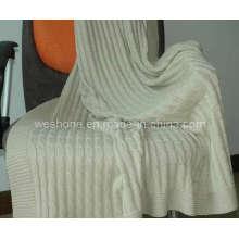 100% algodão macio de malha manta