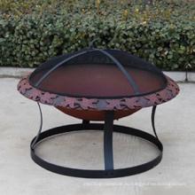 Стальная каминная плита, Яма для огня, Металлический котел с подогревом, Парогреватель, Барбекю
