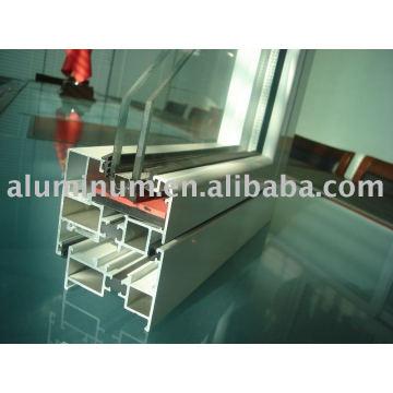 thermal broken doors and windows insulated aluminum profile