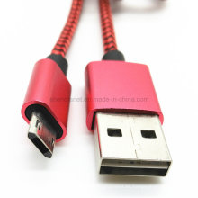 Cable USB de carga reversible macho a micro datos