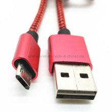 Реверсивный USB мужчина к Micro данных кабель для зарядки