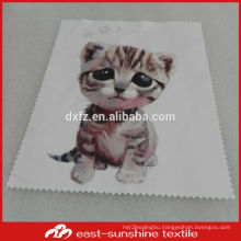 wholesalw custom sublimation printed microfiber cleaning kit used on optical lens cleaning