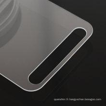 Prix de haute qualité concurrentiel bord 2.5D haute protecteur d'écran en verre trempé transparent pour Samsung S7 actif, acceptez Paypal