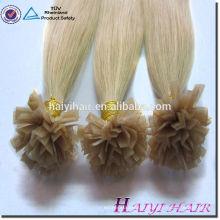 Venda quente novos produtos Loira 613 # V ponta cabelo pré-ligado