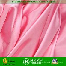 Tela de raso torcida de color rosa para la ropa de dama de honor