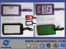 Soft PVC Luggage Tag (SZXY160)
