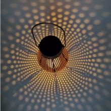 Luces de proyección de punto de espina de lata solar