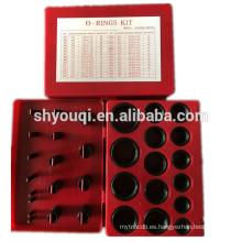 Alta calidad 382pcs 30 tamaños NBR o ring kit Rubber O rings pack Nitrile sellos oring repair box