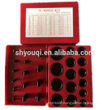 High quality 382pcs 30 sizes NBR o ring kit Rubber O rings pack Nitrile seals oring repair box