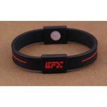 Geprägtes Logo Fashion Silikon Armband
