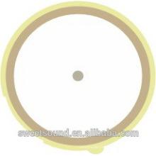 Usine de éléments piézocéramiques 2.6khz 27mm piézoélectrique bimorph