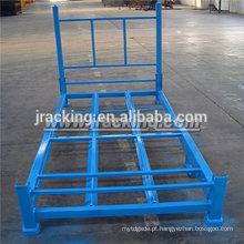 Armazéns de aço logísticos de armazém de pneu dobrável e empilhável