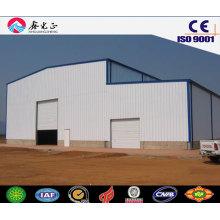 Materiales de construcción / Estructura de acero Taller prefabricado, cobertizo de almacenamiento, almacén (JW-16286)