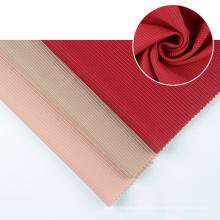 customize Good nice quality ottoman sanded jacquard design indonesia knitting fabric for dress