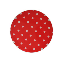Red Round Dinner Plate FDA Approval