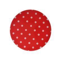 Красная круглая тарелка одобрение FDA