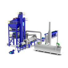 Hot Asphalt  Drum Mixer Plant Design
