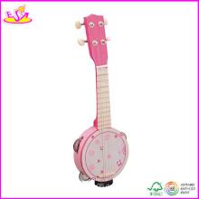 2014 neue hölzerne Gitarre, beliebte 30-Zoll-Holz-Gitarre und heißer Verkauf Holz Gitarre W07h021