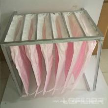 Filtre à sac à poche moyen pour filtre à air industriel HVAC