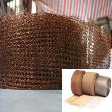 Pantalla de malla de alambre de cobre para filtro